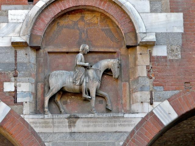 Italy, Milan, Oldrado de Tresseno by Benedetto Antelami