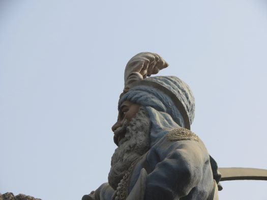 Equestrian statue of Jassa Singh Ramgarhia in Amritsar